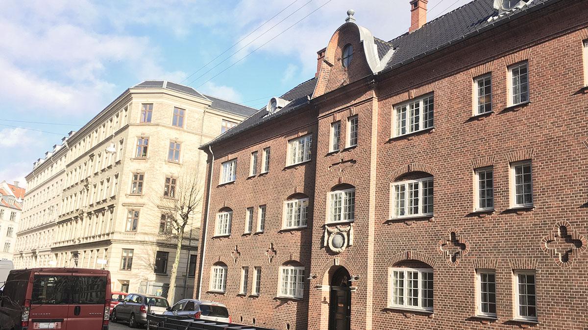 Mødrehjælpens Rådgivningshus i i København.