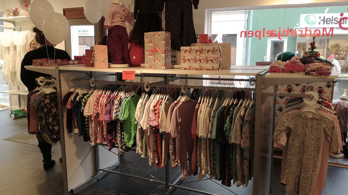 Mødrehjælpens butik i Thisted